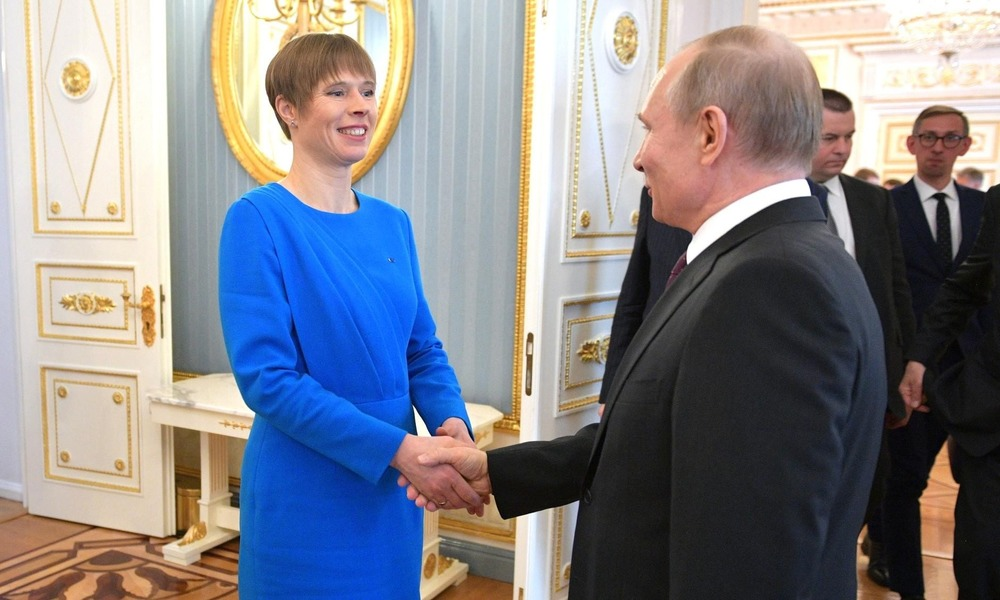 A Controversial Visit: President of Estonia Meets with Putin at the Kremlin