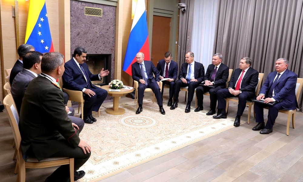 Maduro Buys Russia's Support By Signing New Deals with Moscow