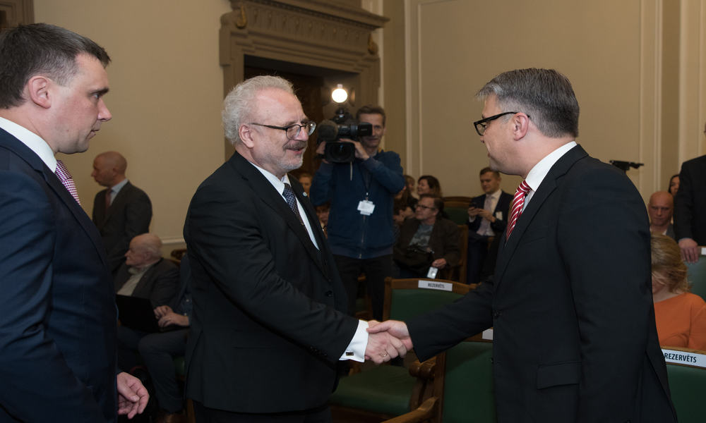 New Presidents in Latvia and Lithuania