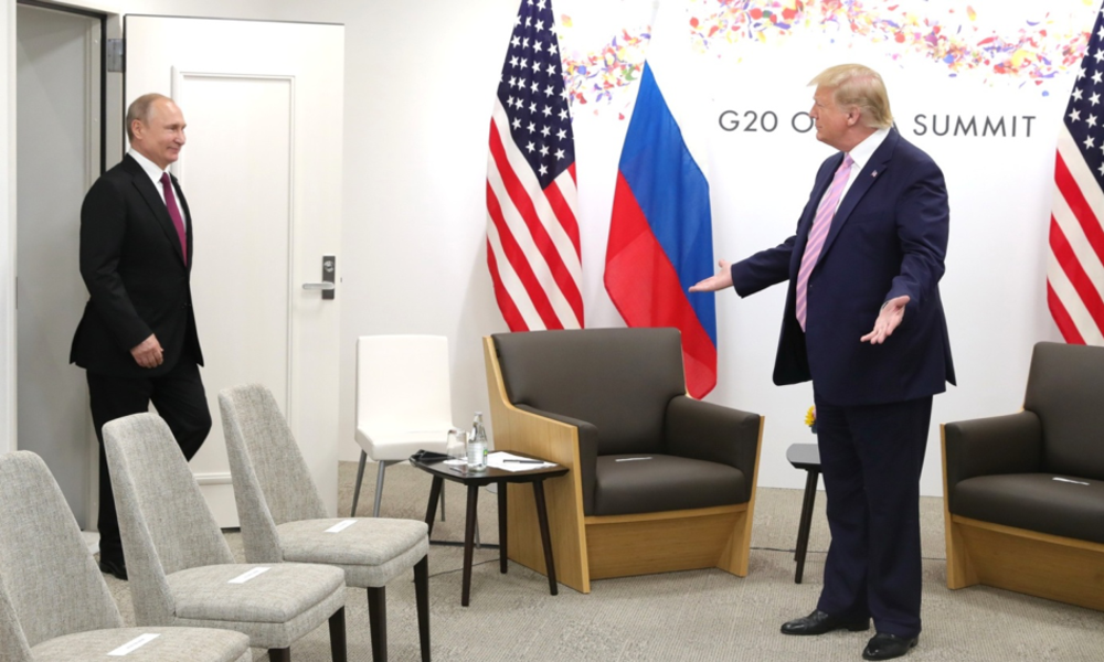 Osaka G20 Summit: Putin and Trump Fail to Get New Yalta