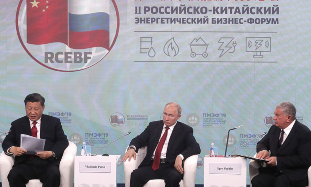 Rosneft's Sechin Criticizes Washington, Putin Outlines Preferable Crude Price