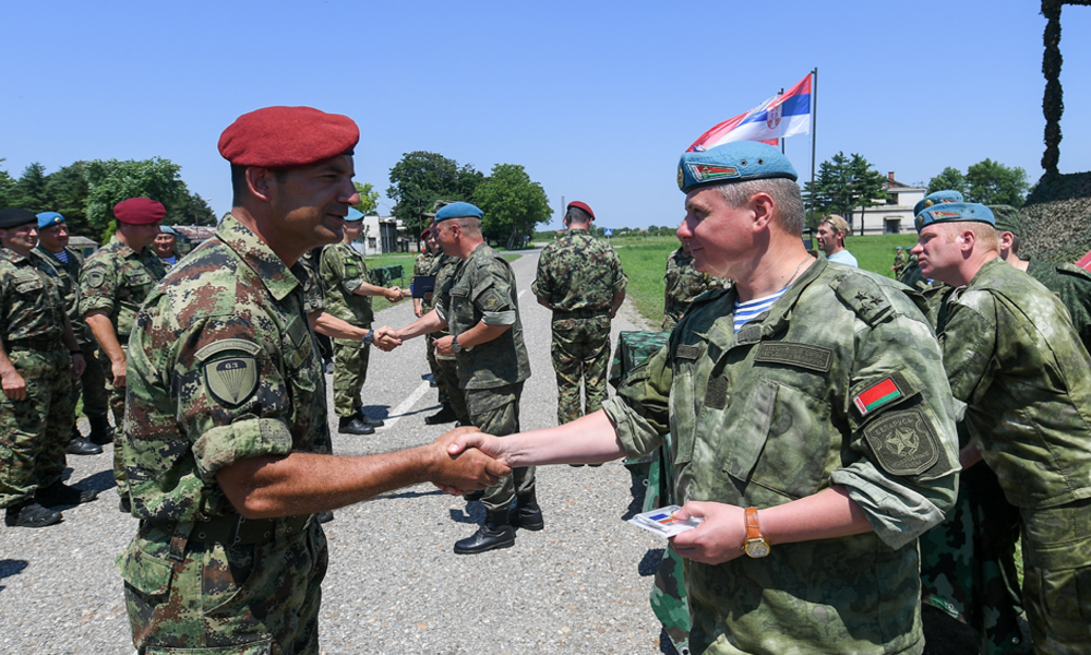Russian Paratroopers Deployed to Serbia As Part of Slavic Brotherhood 2019 Drills