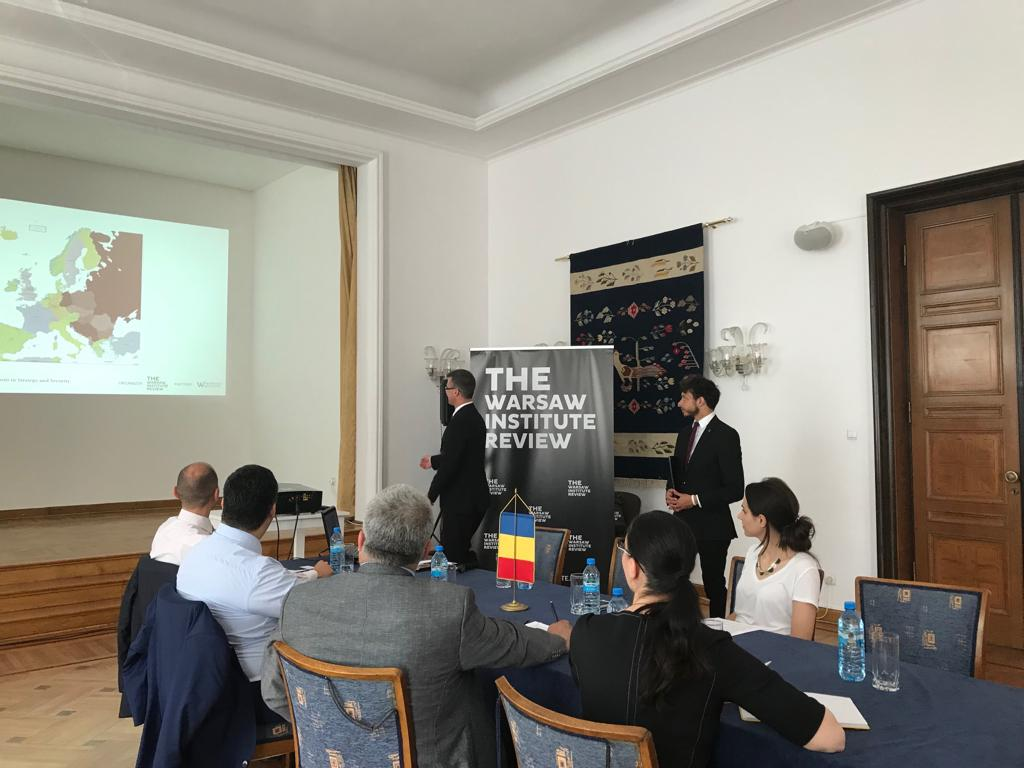 """Strategy Duologues on Geopolitics"" – The Warsaw Institute Review's Initiative at the Embassy of Romania"