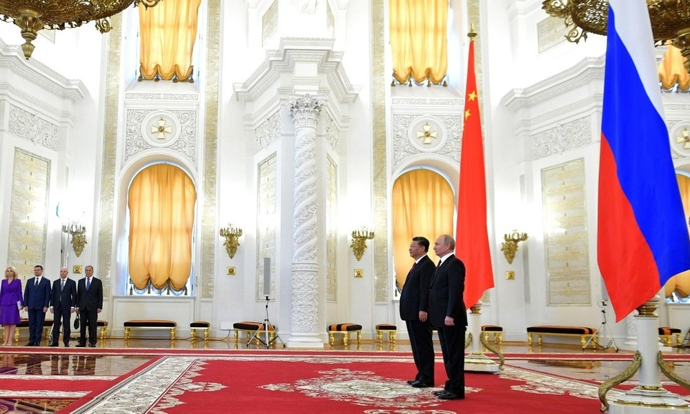 Chinese-Russian Unequal Partnership