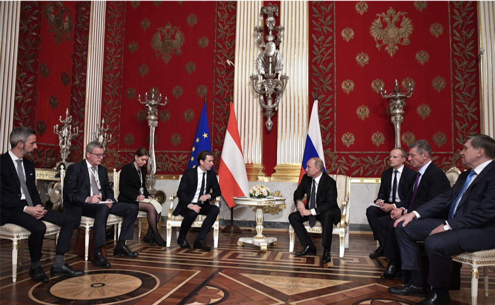 Gas and Espionage: A Scar on Russia-Austria Ties