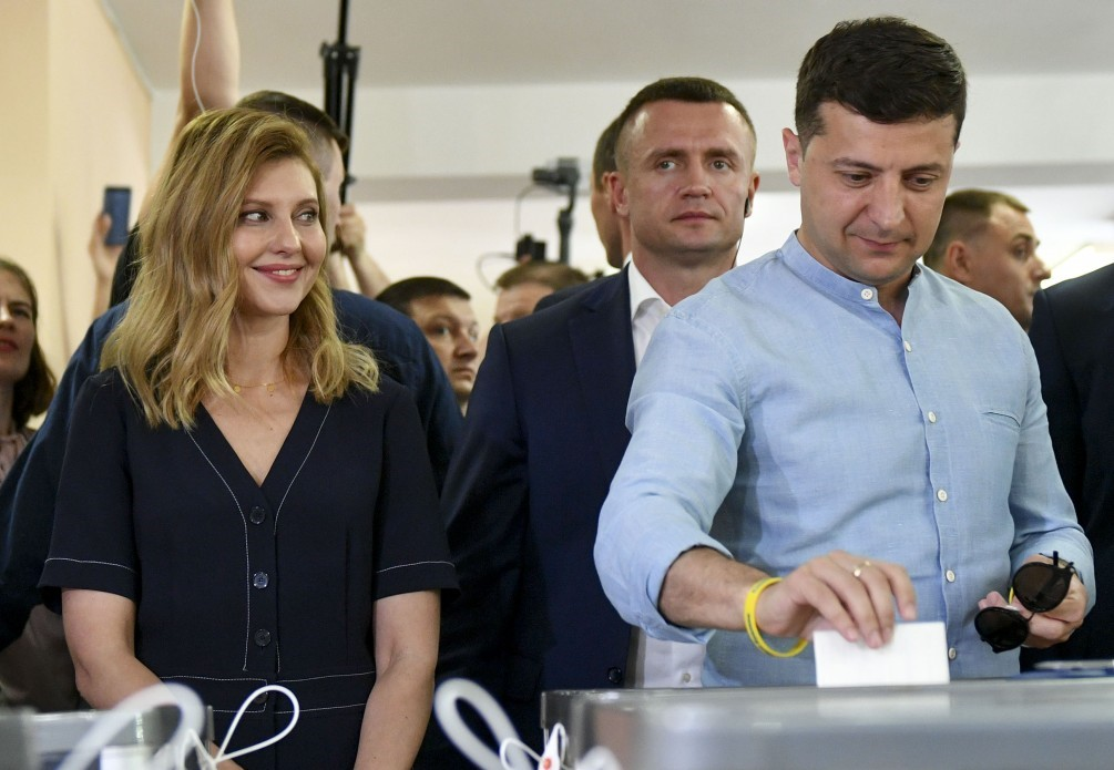 All power in the hands of Zelensky