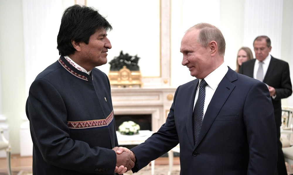 Morales's Visit to Moscow: Bolivia Drifts Closer to Russia