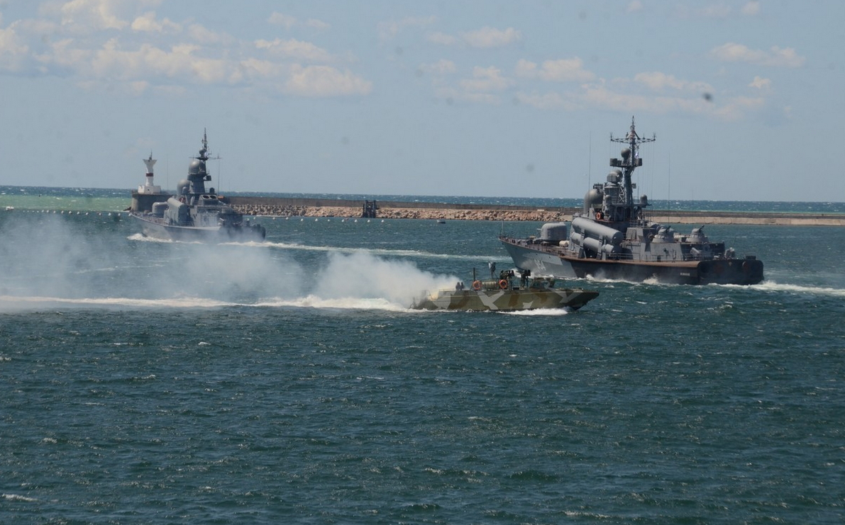 Russian Response to the Sea Breeze Exercise: The Black Sea Fleet Goes Out to Sea