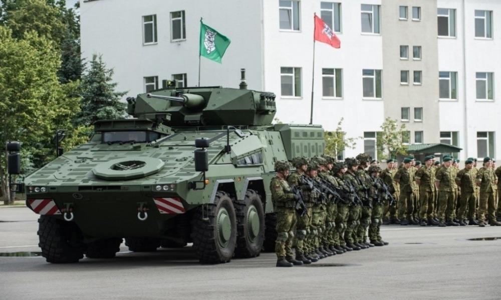 Wilki z izraelskimi pociskami dla litewskiej armii