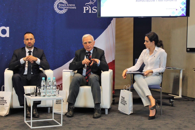 mysląc Polska - Warsaw Institute - geopolityka energii - Piotr Naimski g1