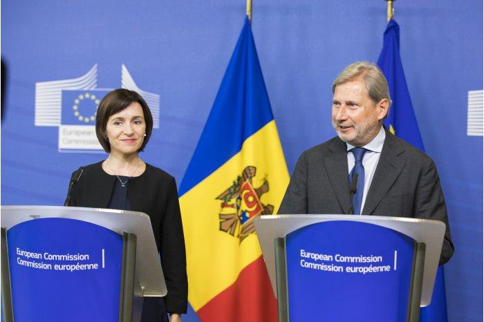 Unia Europejska odblokowuje środki pomocowe dla Mołdawii