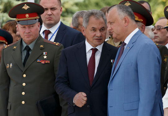 Shoigu's Mission: Russia Holds Moldova Firmly In Its Grip
