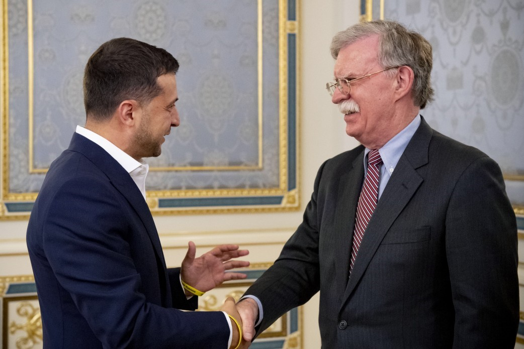U.S. Advisor Bolton Visits Kyiv: Ukraine Warned Not Only Against Russia