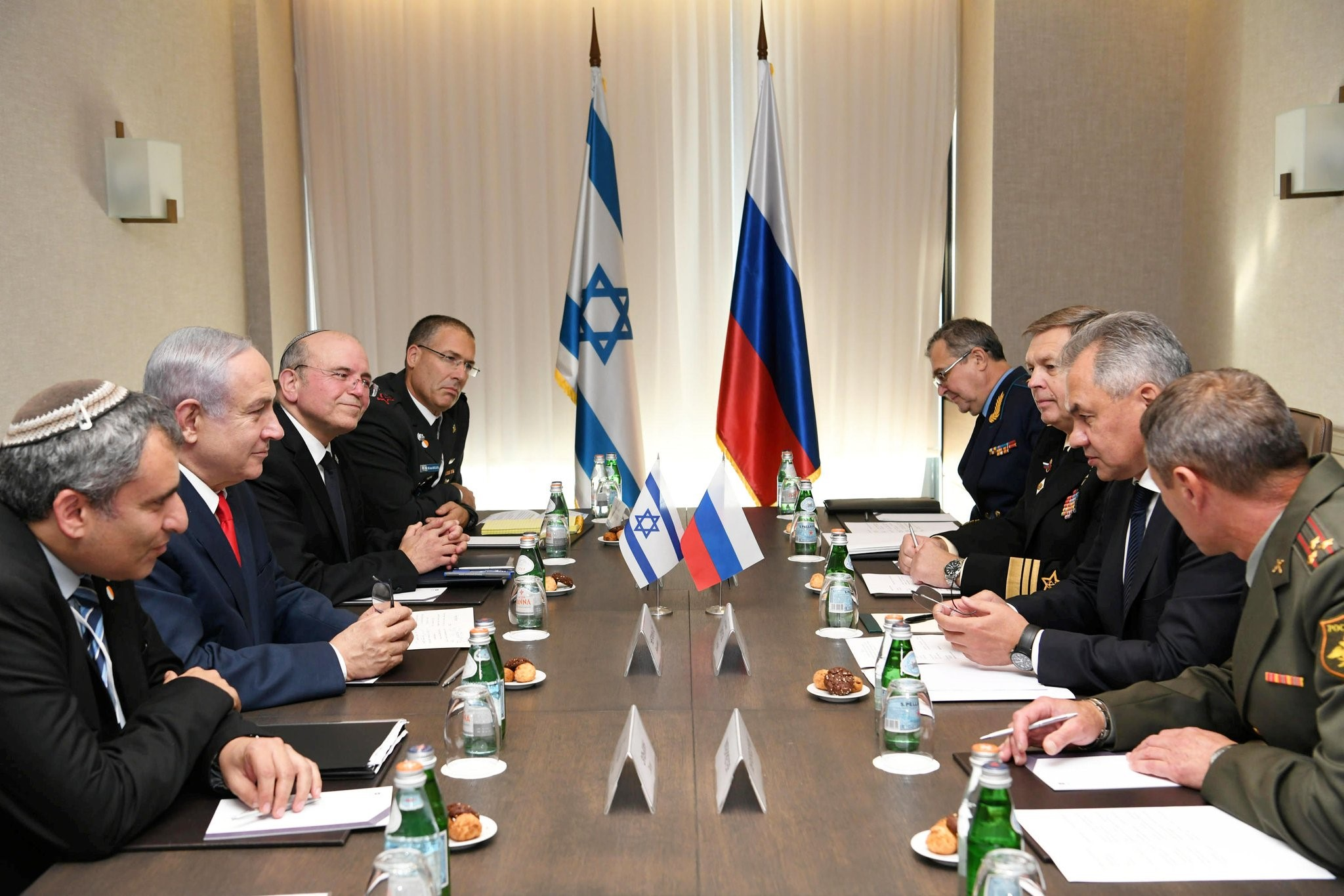 PM Netanyahu and Israeli Delegation Pay a Pre-Election Visit to Sochi