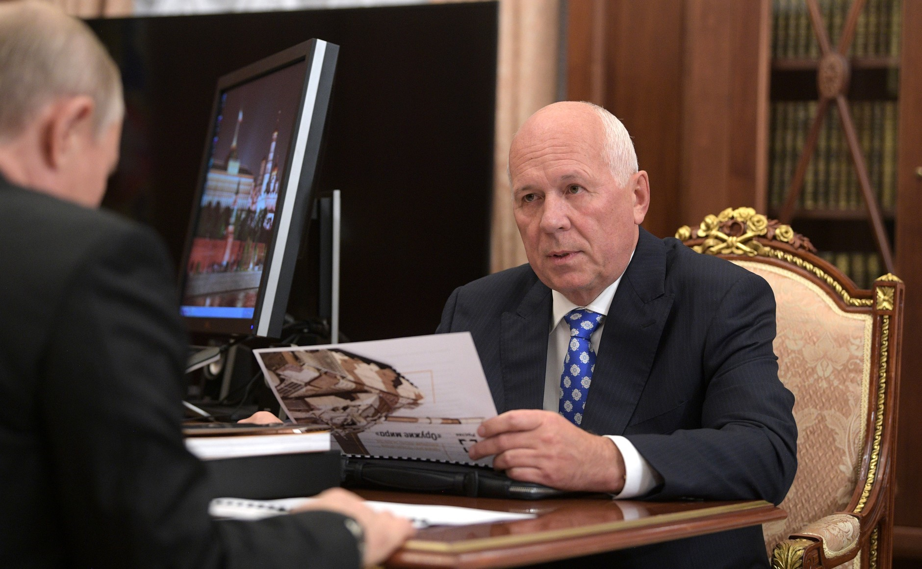 Rostec CEO Chemezov Gathers Steam
