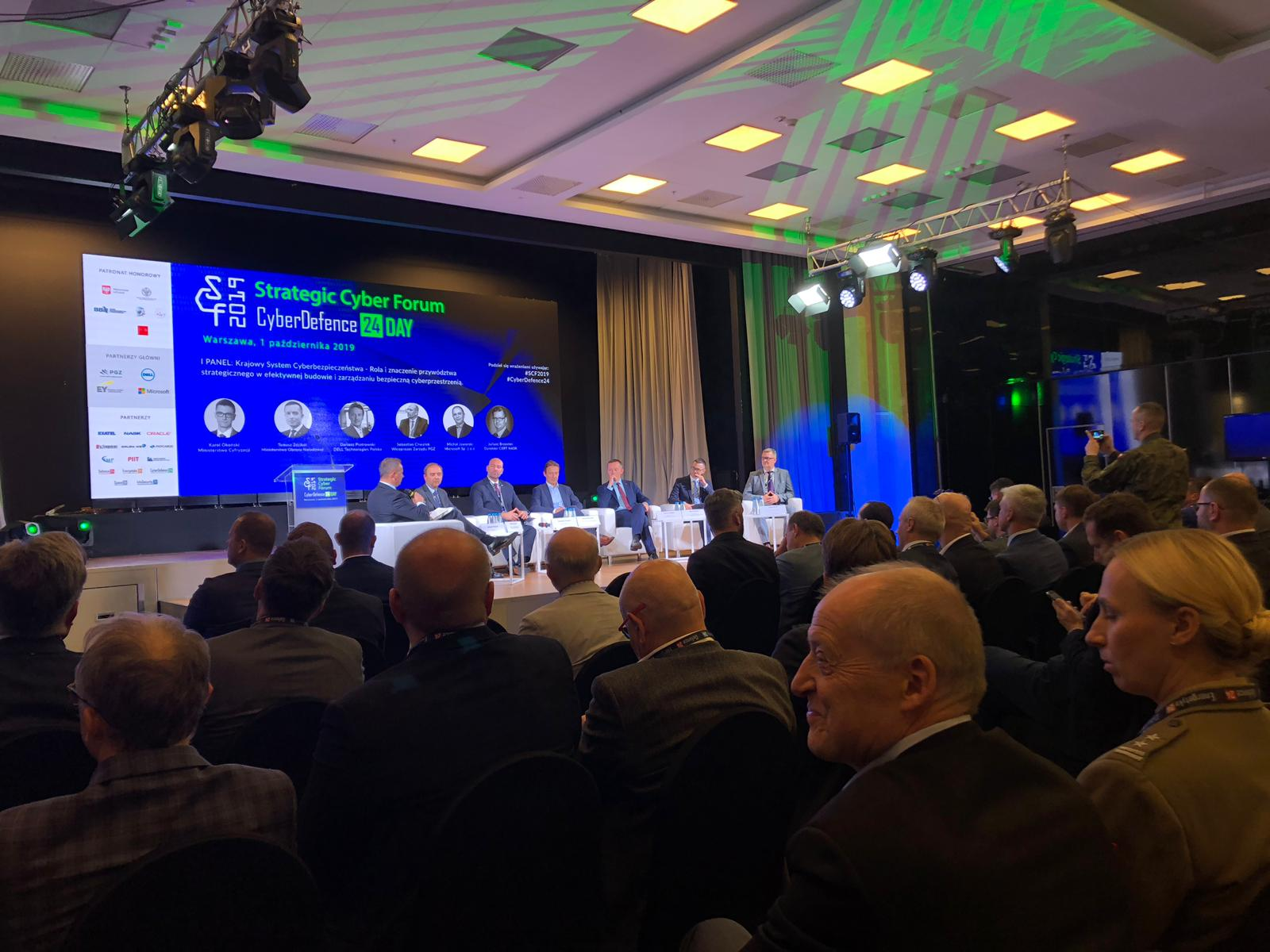 Strategic Cyber Forum – CyberDefence24 Day