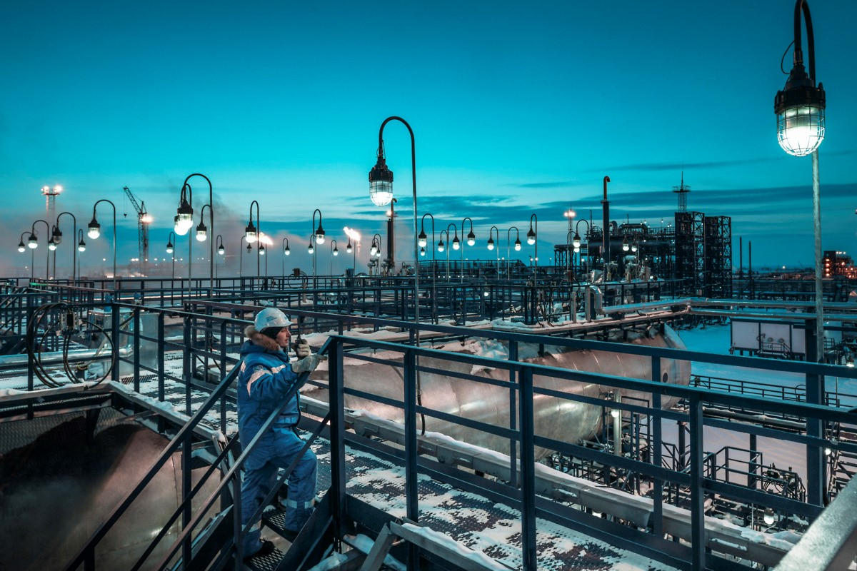 Gazprom Advances Its Arctic Projects