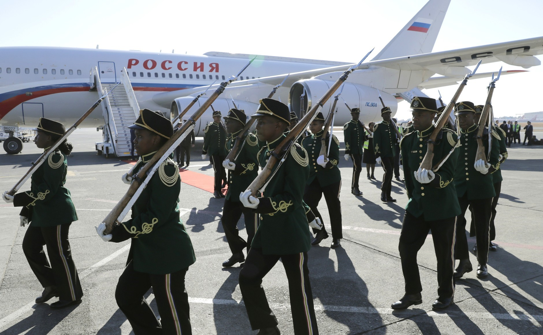 Russia in Africa: Weapons, Mercenaries, Spin Doctors.