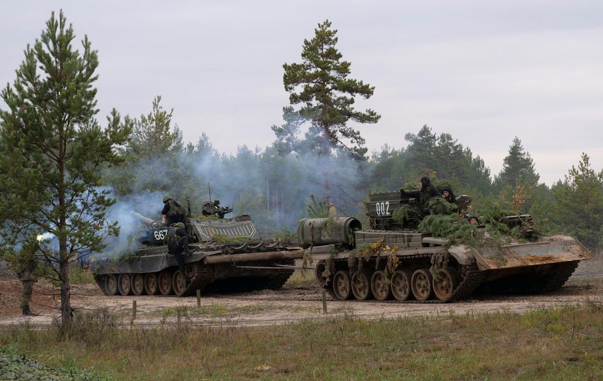 Belarus's Lukashenko Criticizes NATO over Joint Russian-Belarusian Drills