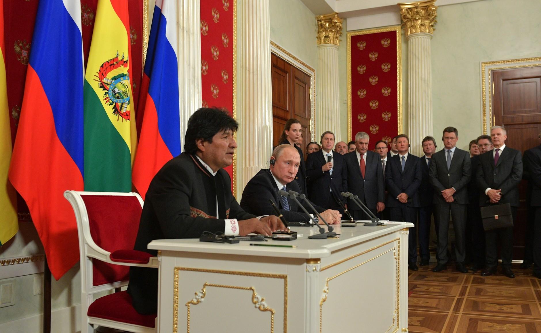 Upadek Moralesa, czyli Rosja traci sojusznika w Boliwii