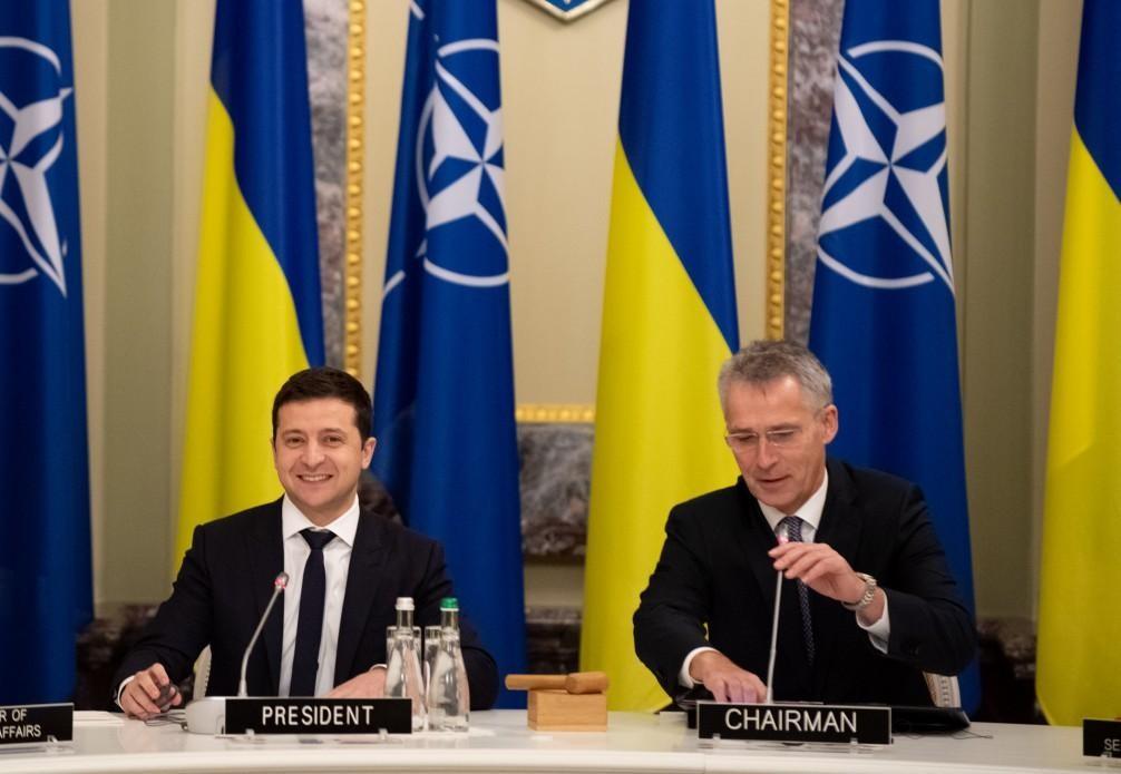 Ukraina w NATO? Jednoznaczne stanowiska Zełenskiego i Stoltenberga