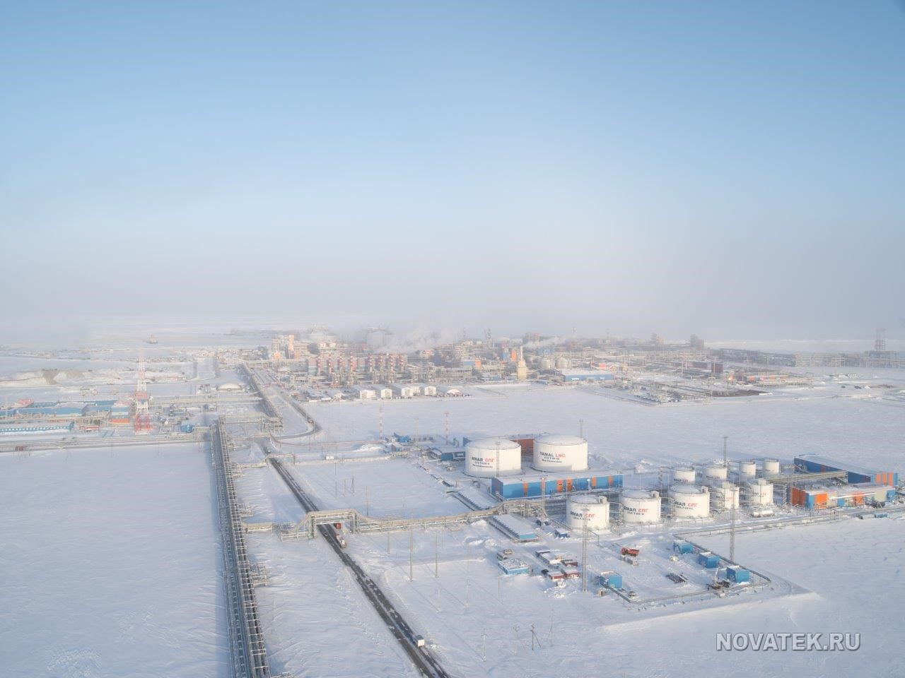 Novatek Boasts of Rising Output: Foreign Investors Enter Russian LNG Terminals