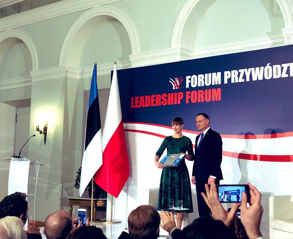Warsaw Institute na forum liderów Polska – Estonia