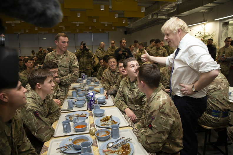 Boris Johnson in Estonia. The British as a trusted ally