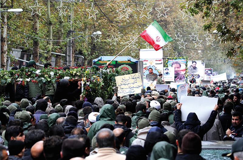 Krwawa jesień w Iranie