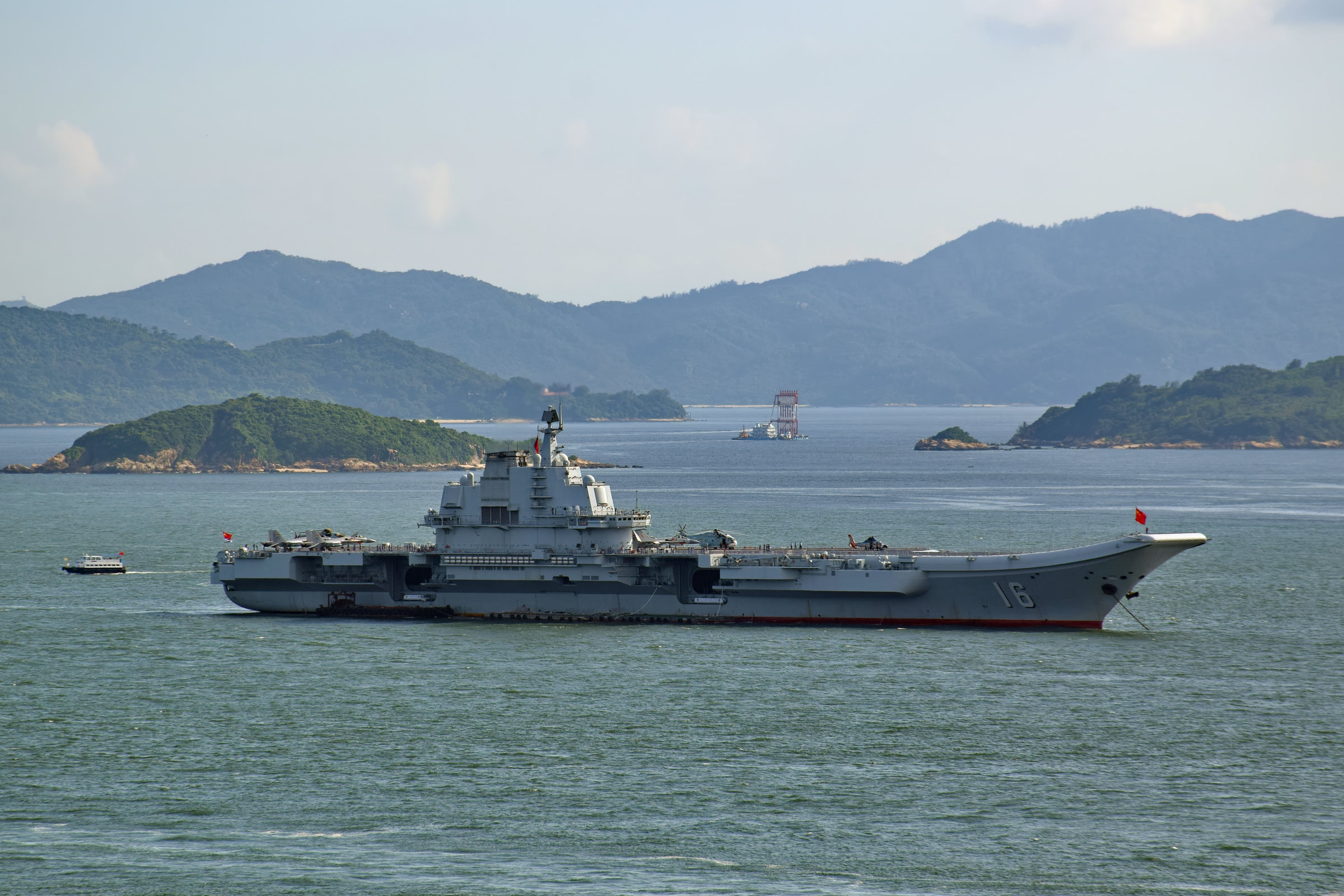 The Chinese display of power near Taiwan