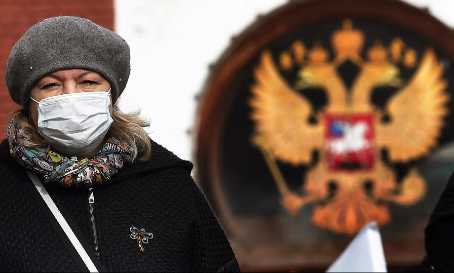 Interview: Russia's phony fight with pandemic