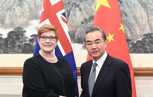 Wojna handlowa Chiny-Australia?