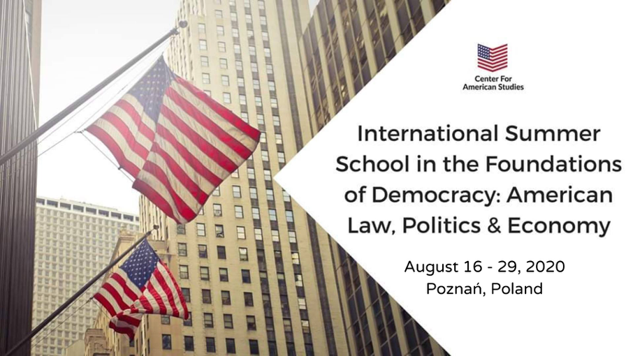 Summer School in American Law, Politics & Economy 2020
