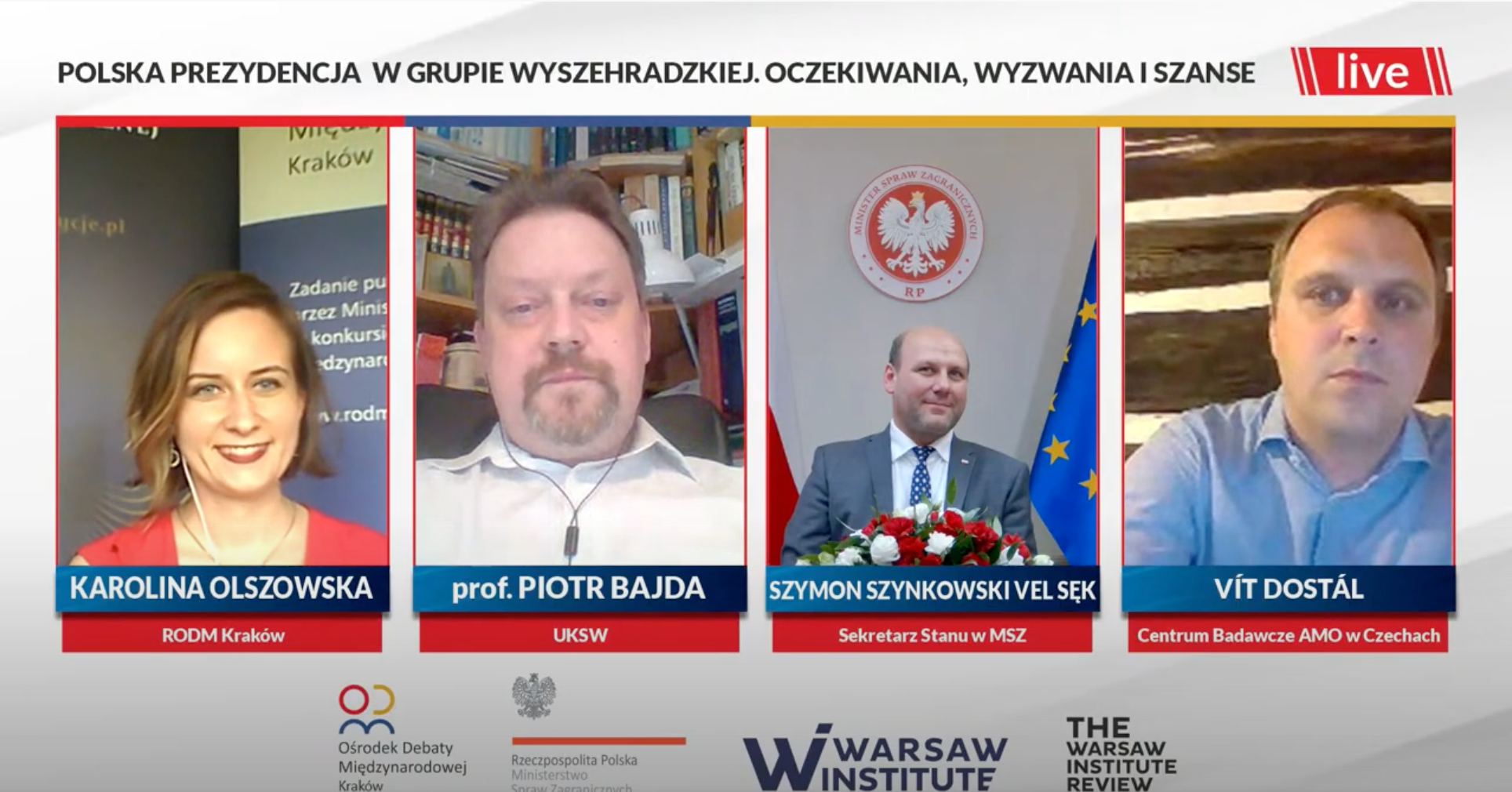 Debate: Polish presidency of the Visegrad Group. Expectations, challenges and opportunities – summary