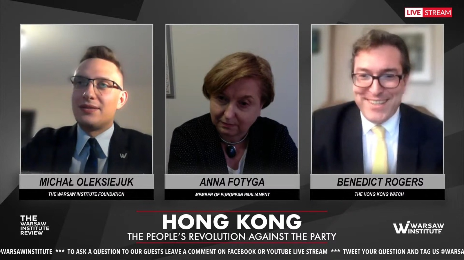 Summary: Hong Kong – the people's revolution against the Party