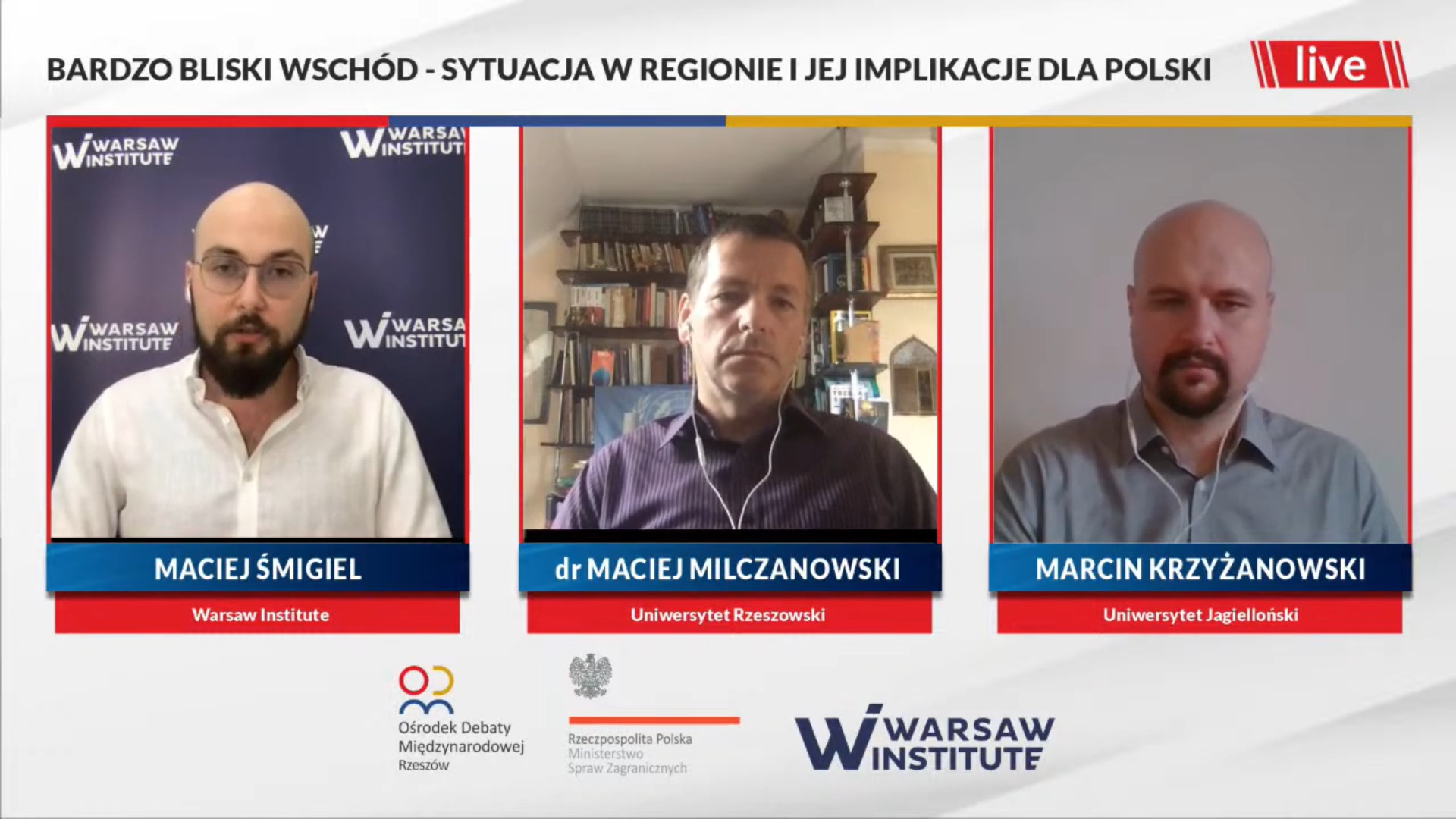 Summary: The More-than-a-Middle East – the situation in the region and its implications for Poland