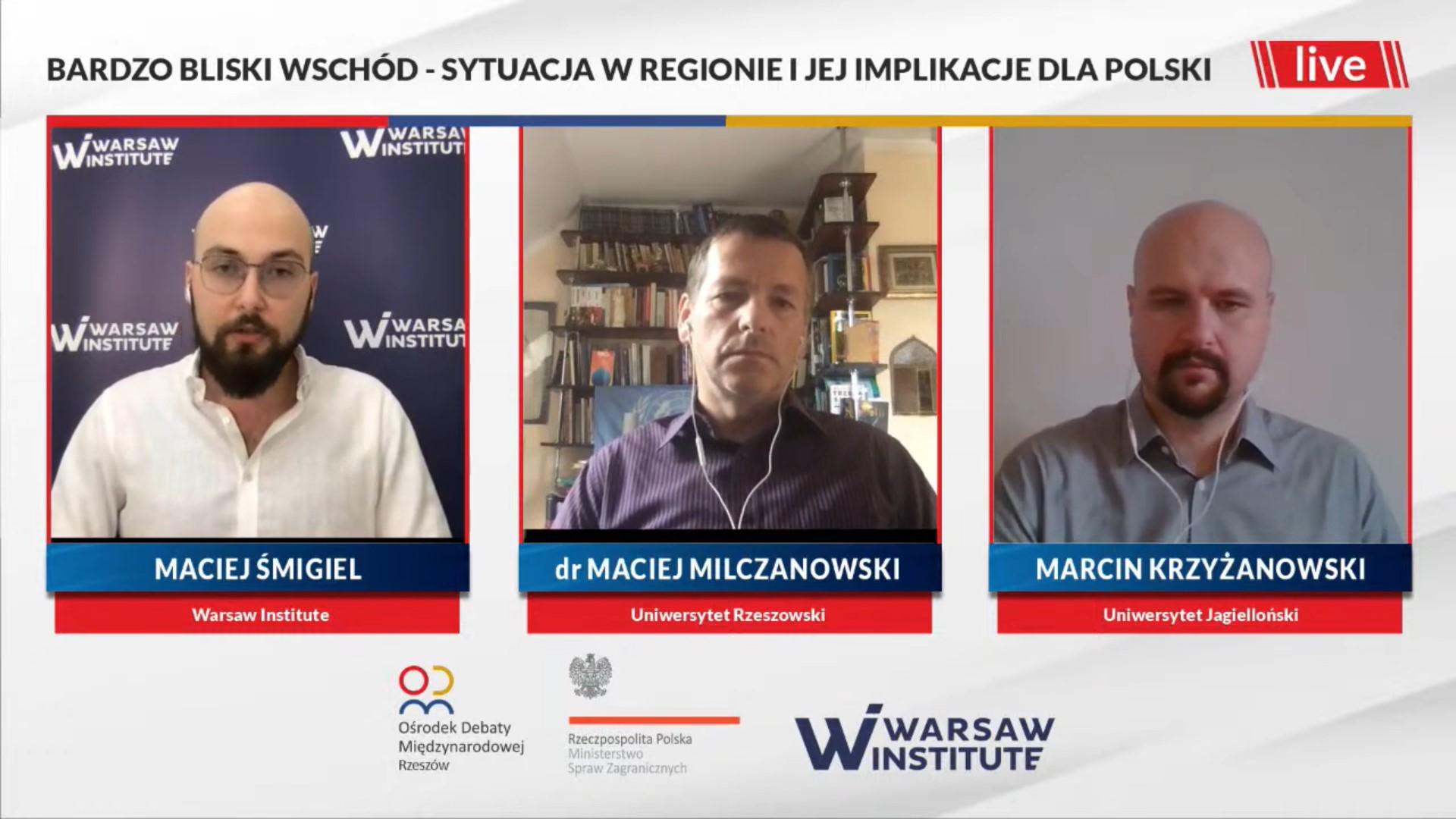Podsumowanie debaty: Bardzo Bliski Wschód – sytuacja w regionie i jej implikacje dla Polski