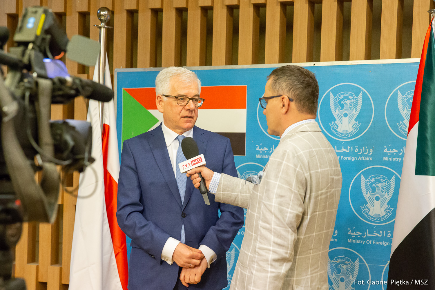 WI Daily News – Polish MFA supports political transformation and reform process in Sudan.