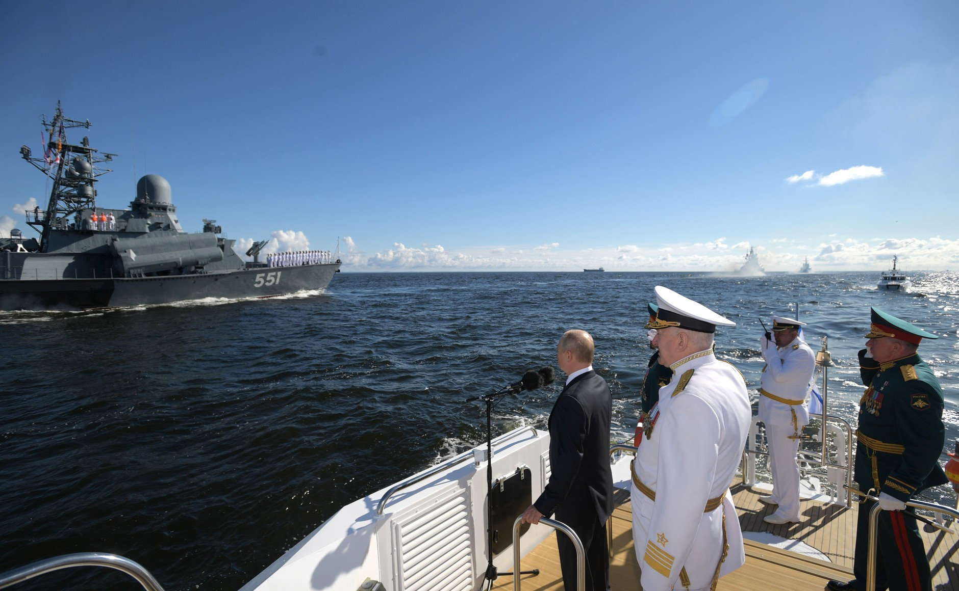 Putin Reveals Grandiose Plans for Russia's Navy