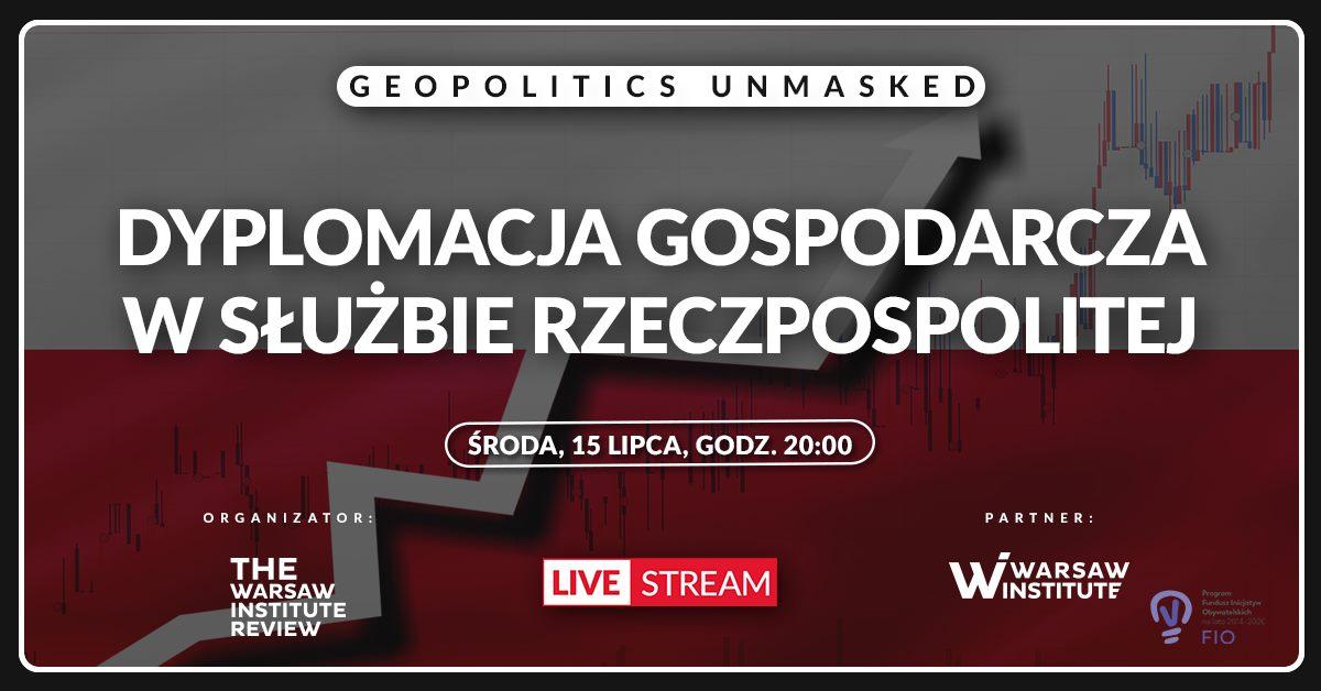 Debata liderów: dyplomacja gospodarcza w służbie Rzeczpospolitej