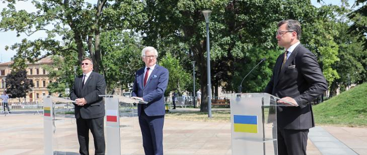 WI Daily News – Trilateral talks of Polish, Lithuanian and Ukrainian Foreign Ministers in Lublin