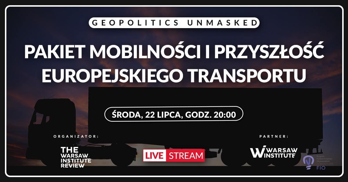 Debata online: Pakiet mobilności i przyszłość europejskiego transportu