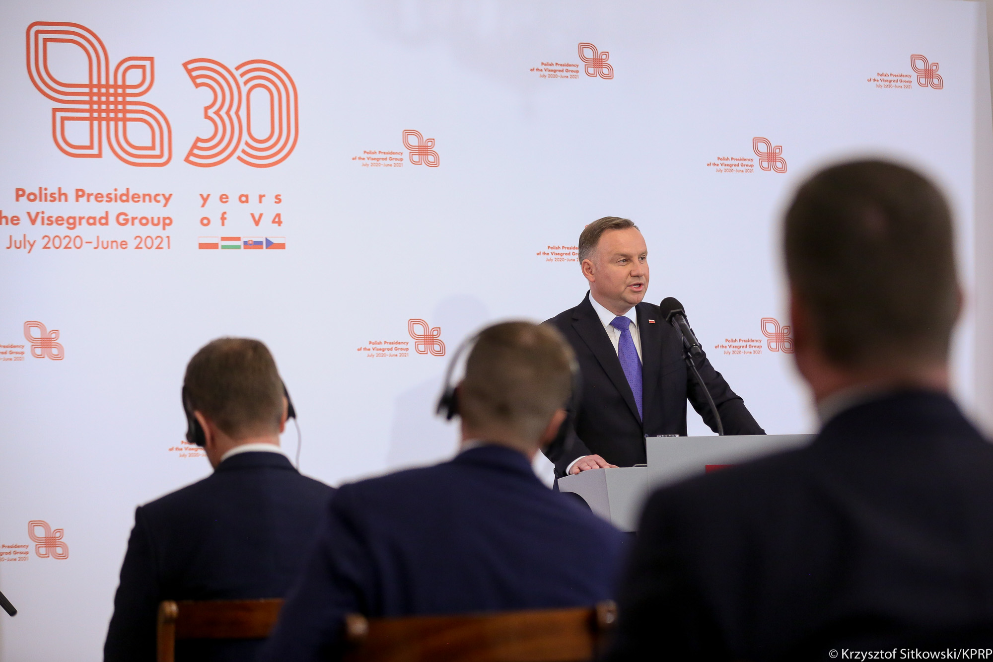 WI Daily News – Polish President at the Visegrad Group Summit