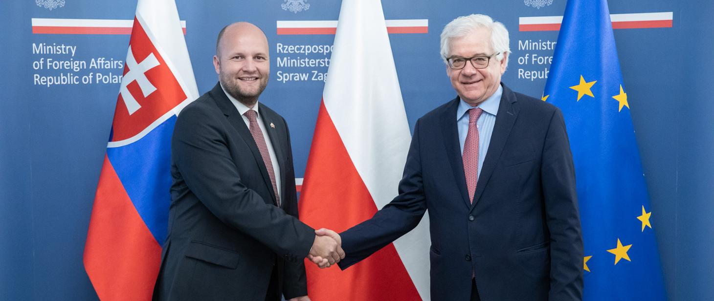 WI Daily News – Polish Foreign Minister and Slovak Minister of Defence met in Warsaw