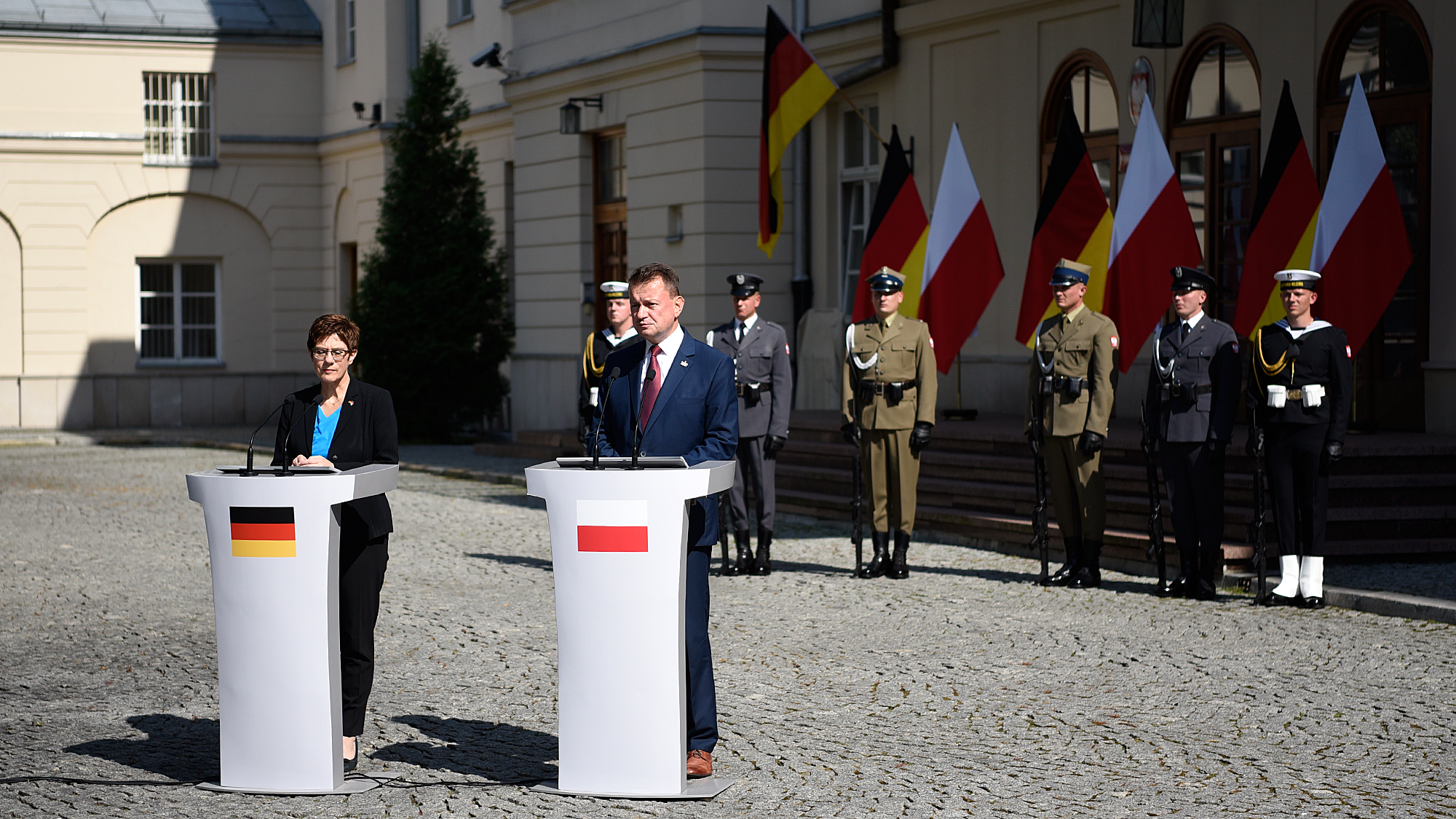 WI Daily News – Polish and German Ministers of Defence met in Warsaw