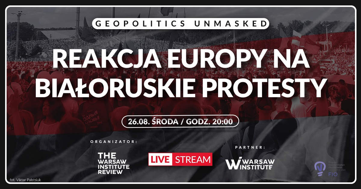 Debata ekspercka: Reakcja Europy na białoruskie protesty