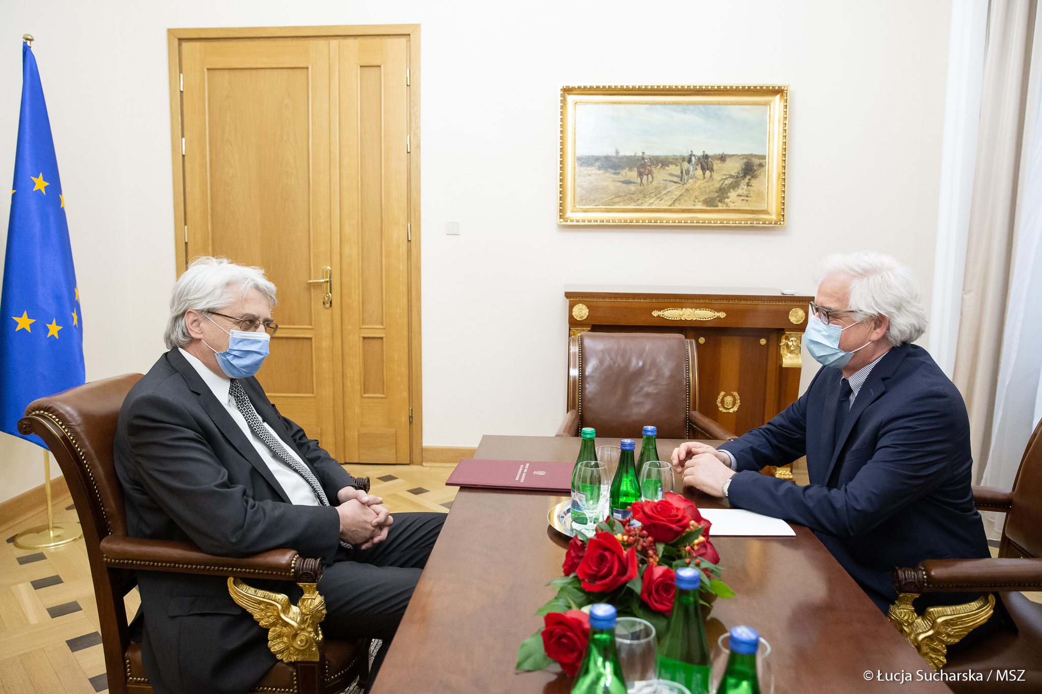 WI Daily News – Polish Foreign Minister met with President of the Polish National Commission for UNESCO