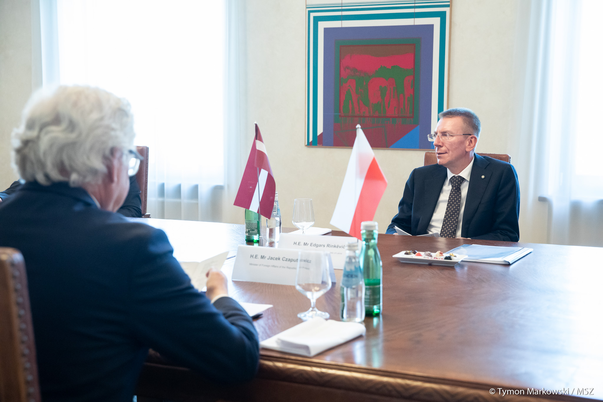 WI Daily News – Polish Foreign Minister visited Riga