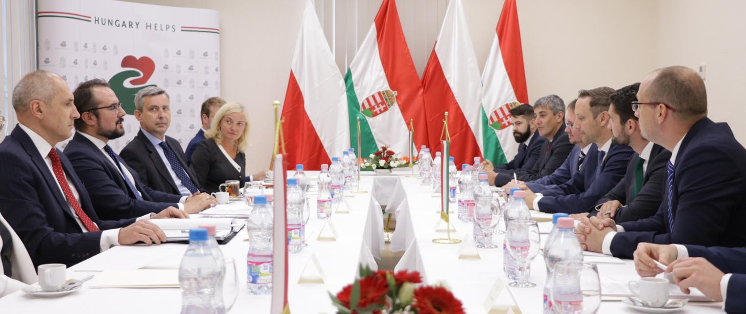 WI Daily News – Poland and Hungary sign memorandum on humanitarian aid cooperation