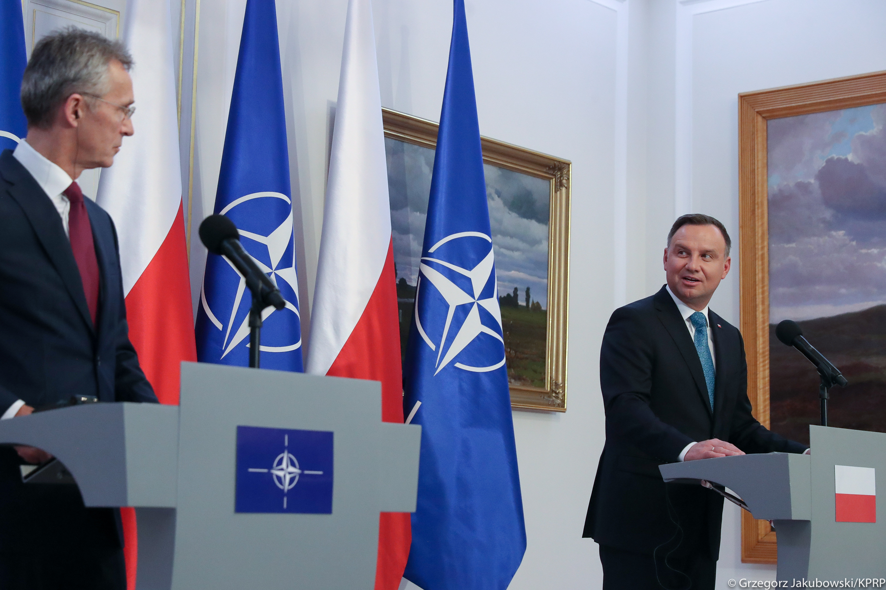 WI Daily News – President of Poland and NATO Secretary discussed recent developments in Belarus